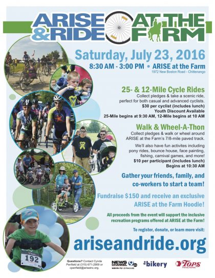 ARISE&Ride - 2016 Poster Final